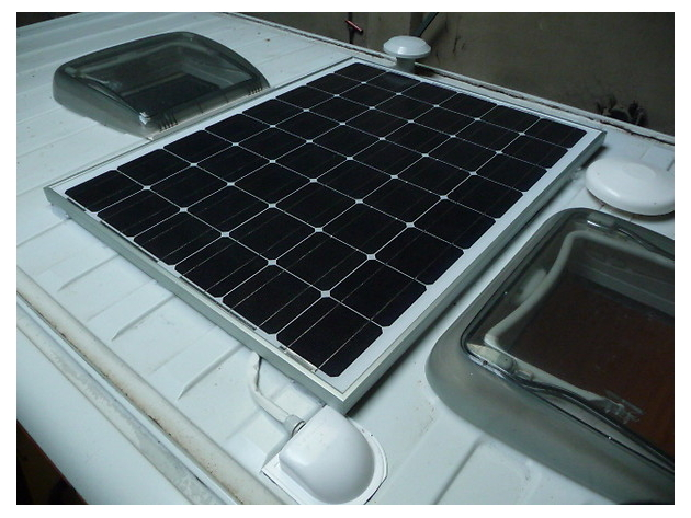 Panel Solar Para Vehiculos Camper Camperleon